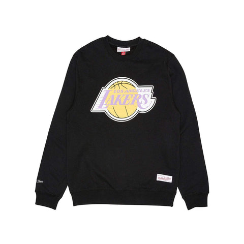 Mitchell&Ness Mens LA Lakers Basic Team Logo - (MNLL0030.BLK0001)