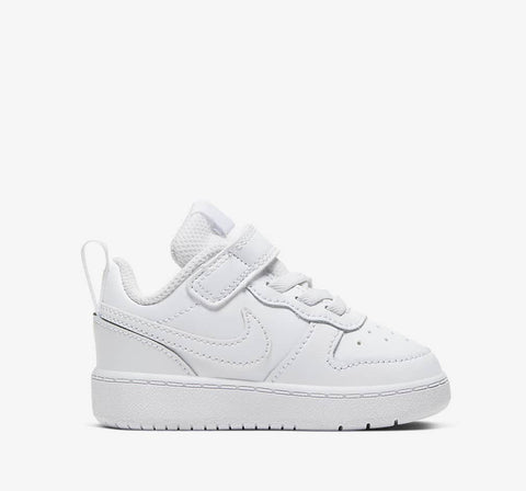 #Nike Toddler Court Borough Low 2 (All White) - (BQ5453 100) - NW - R1L2