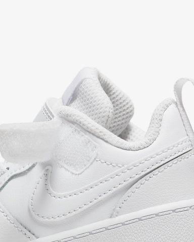Nike Toddler Court Borough Low 2 (All White) - (BQ5453 100) - NW - R1L2
