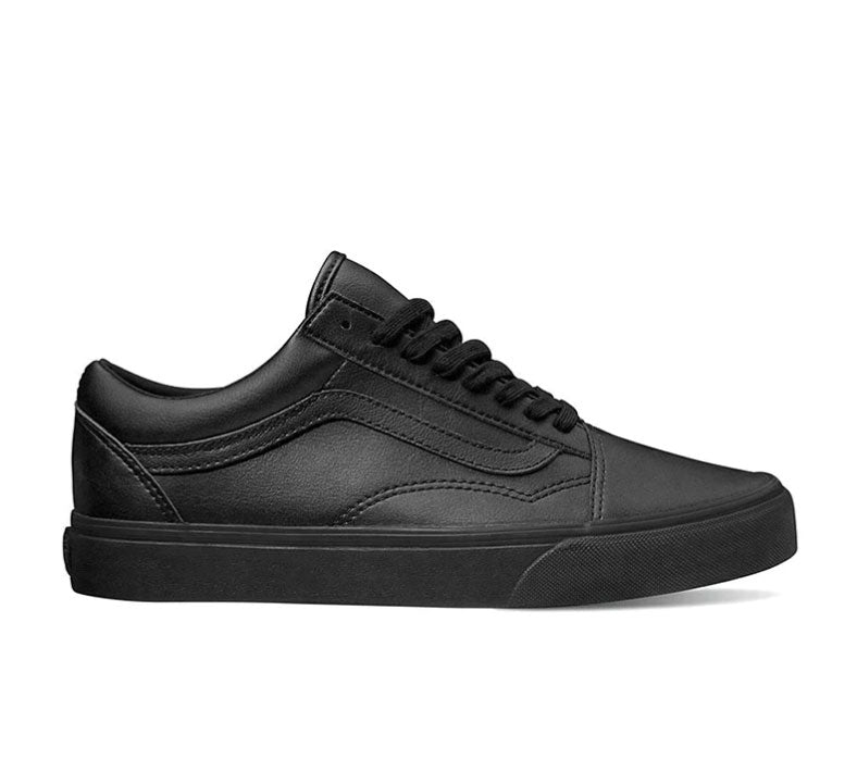 #Vans Old Skool Mono Blk Leather - (VN0A38G1PXP) - OSL - R2L14