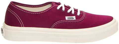 #Vans Unisex Authentic Slim Red Plum - (VN0QEV8W9) - PR - F