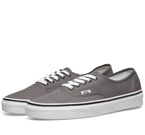 #Vans Kids Authentic Pewter/Black - (VN-0EE0PBQ) - PEW - R1L1