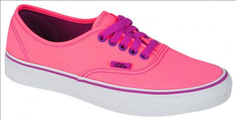 #Vans Youth Authentic Neon Pink/Purple - (VN 0RQZ8PV) - PP - R1L1 - L/P