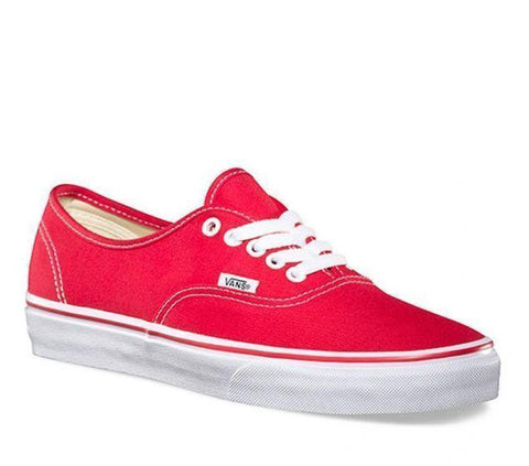 #Vans Adults Unisex Authentic Red - (VN 0EE3RED) - RED - R1L5
