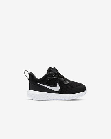 #Nike Toddler Revolution 5 Blk/Wht - (BQ5673 003) - RT - R1L9