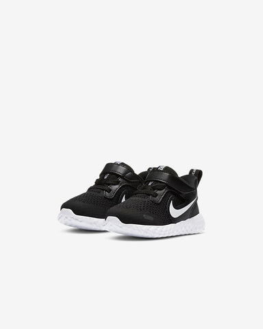 Nike Toddler Revolution 5 Blk/Wht - (BQ5673 003) - RT - R1L9