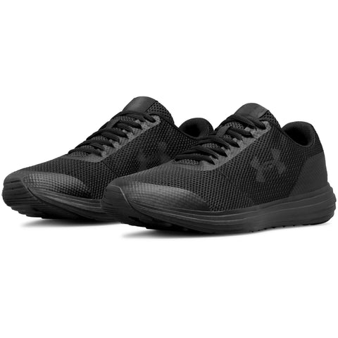 #UA Mens Surge Black - (3020336 006) - S6 - R2L14