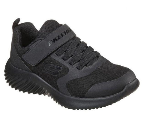#Skechers Kids Bounder Gorven Black - (403732L/BBK) - SG - F