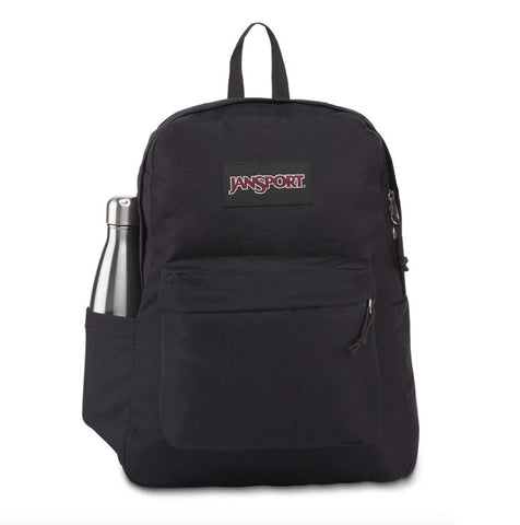 #Jansport Superbreak Plus Backpack Black 26L - (JS0A4QUE008) - R2L14/F
