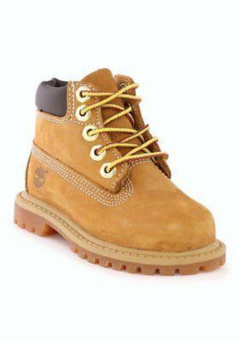 #Timberland Toddler 6in Boot Wheat Nubuck- (TB012809) - TD - R1L9