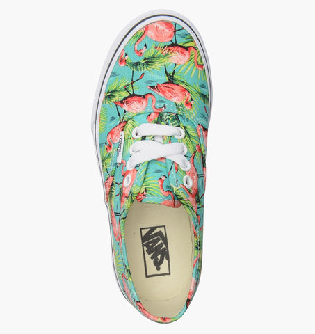 #Vans Kids Authentic Flamingo Turquoise - (VN-0ZUQFEZ) - TQ - R1L1 - L/P