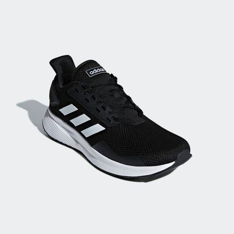 #Adidas Mens Duramo 9 Black/White - (BB7066) - UW - R2L13