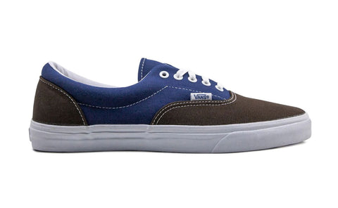 #Vans Mens Era Vintage Brown/Blue - (VN-0QFK7SY) - VB - F