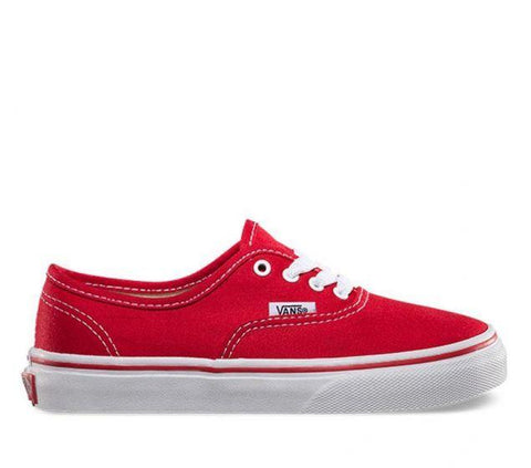 #Vans Kids Authentic Red - (VN-0EE0RED) - RED - R1L1