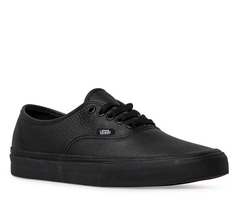 *Vans AUTHENTIC DECON Black Leather (VN00018CGKM) - DEB - R2L15