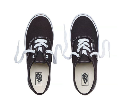 #Vans Kids Authentic Black - (VN000WWX6BT) - BLK - R1L1