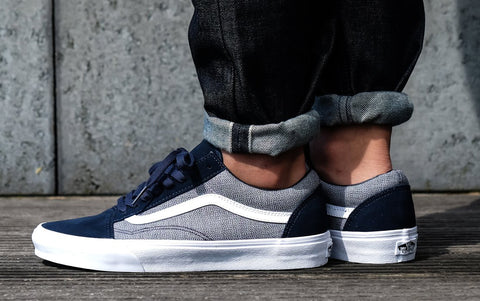 *Vans Old Skool (Suiting) Blueberry/True (VN0A38G1Q74) - TB - R1L6