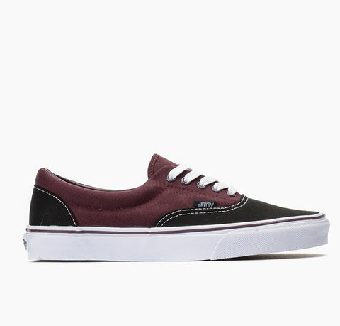 #Vans Kids Authentic Black/Winetasting - (VN-0UAMD8L) - WB - R1L1