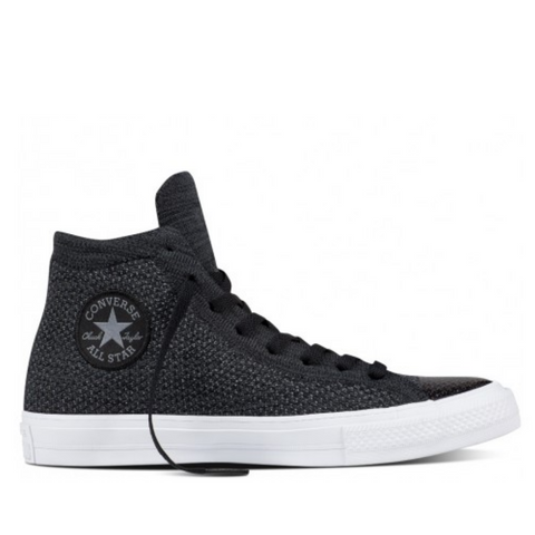 *Chuck Taylor All Star X Flyknit Black - (156736C) - DX - R1L6