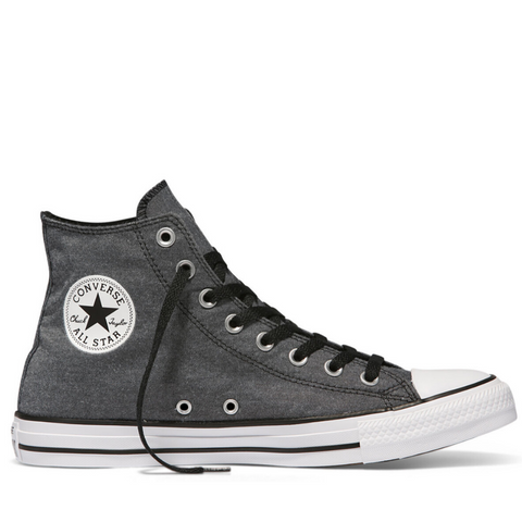 *Chuck Taylor All Star Washed High Top - (155386C) - SIL - R1L7