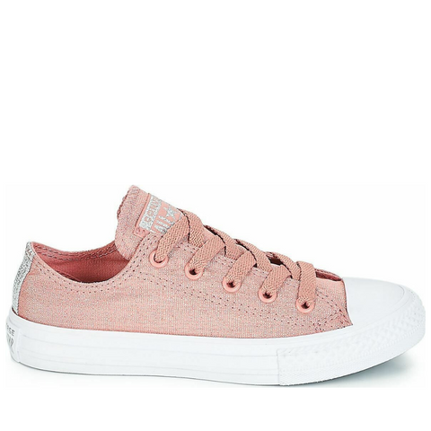 *Chuck Taylor All Star Canvas Rust Pink Womens - (661834C) - RST - R1L1 - L/P