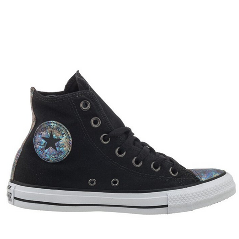 *Chuck Taylor All Star Canvas Hi Womens - (551607C) - QB HI - R1L8