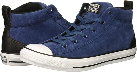 *Chuck Taylor Suede Street MID MASON - (161468C) - NAVY S - R1L7
