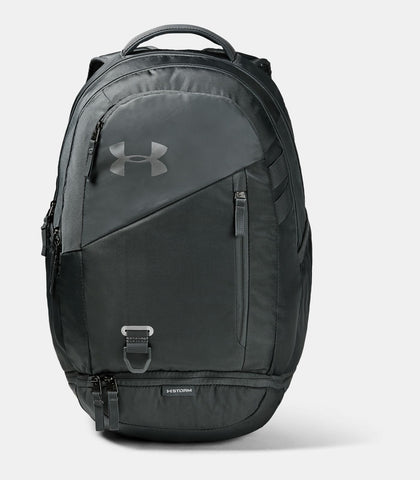 #UA Hustle 4.0 Backpack Grey/Sil 26L - (1342651 015) - R2LB/F