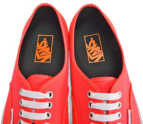 #Vans Unisex Authentic Neon Red/Orange - (VN-0TSV8PY) - PY - F