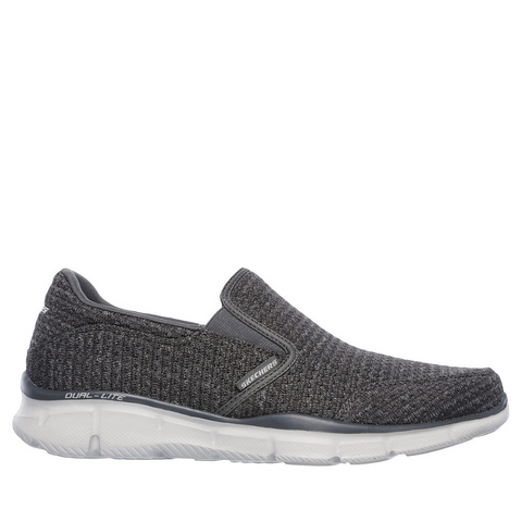 SKECHERS MENS EQUALIZER SLICKSTER - (SN52745-CHAR) - CR - R2L16
