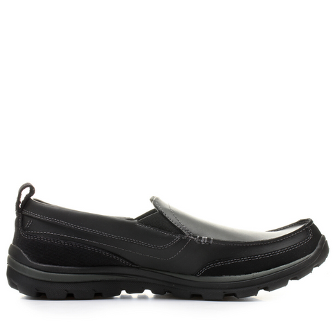 Skechers Mens Relaxed Fit: Superior Gains - (SN63697-BLK) - NS - R2L16 - L/P