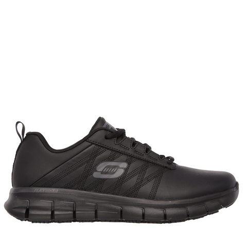 Skechers Work Relaxed Fit: Sure Track (SN76576/BLK) - SB - R2L16