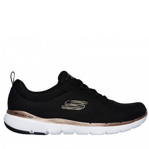 Skechers Womens FLEX APPEAL 3.0 - (13070/BKRG) - BKR - R2L16