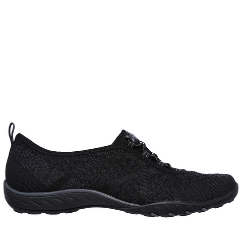 Skechers Womens Relaxed Fit Breathe Easy - (23028/BLK) - FX - R2L16