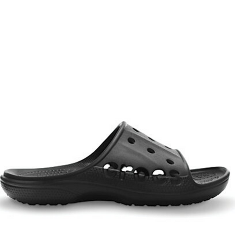 #Crocs Baya Slide Black/Black - F