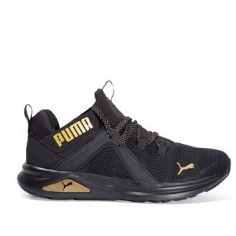 *PUMA WOMENS ENZO 2 METAL Black/Gold (193257-01) - ME - R2L14 -