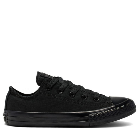#Converse All Star Ox Black Monochrome Lo - (314786C) - BLK MONO LO - R1L1