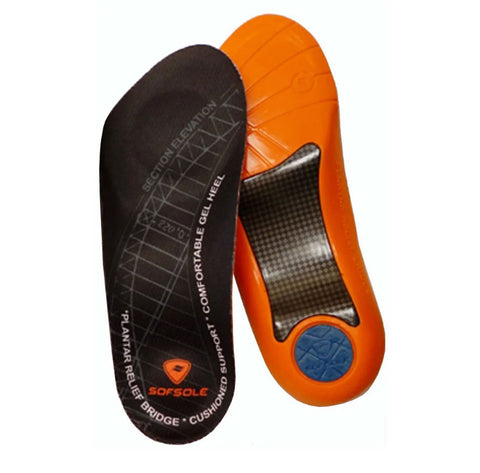 #SofSole Support Plantar Fascia Insole Mens Fit - F