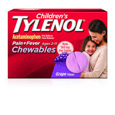 Chewable Fever and Pain Medicine