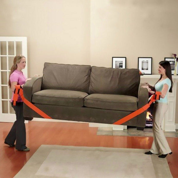 2PCS FURNITURE MOVING BELT