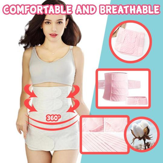 3 IN 1 PREGNANCY SUPPORT, POSTPARTUM & WAIST SLIMMING BELT