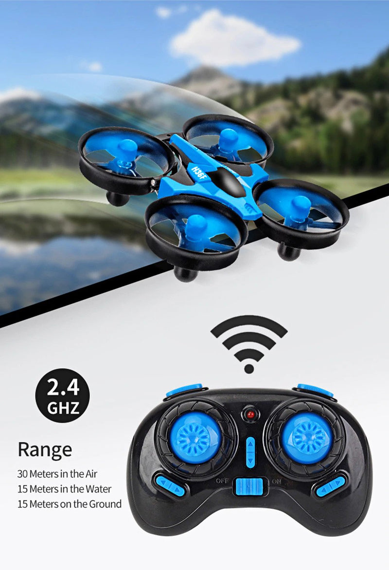 3-in-1 Mini Drone and Water Racing Boat