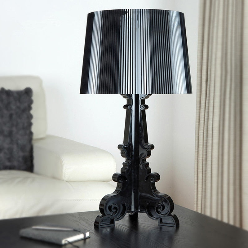 High Accent Table Lamp Transparent Bedside Lamp