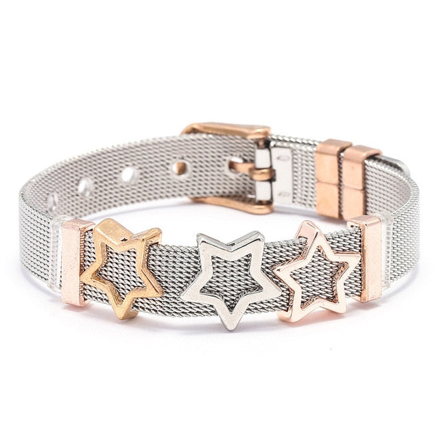 High Quality Stainless Steel love Lock Bracelet