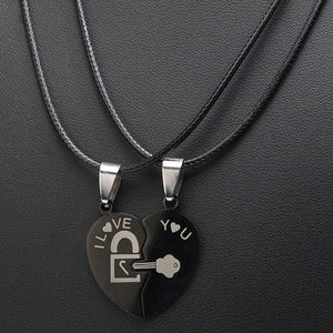 Stainless Steel Love Necklace