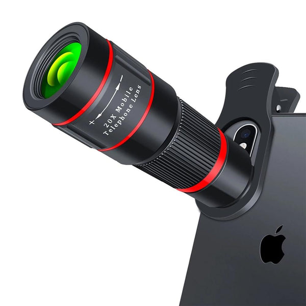 20X Zoom Cellphone Telescope Lens