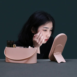 Portable Makeup Mirror Box