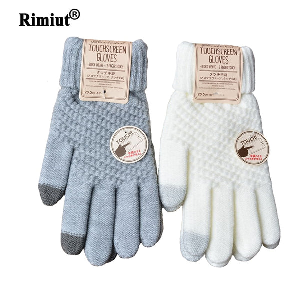 Cashmere Knitted Winter Gloves