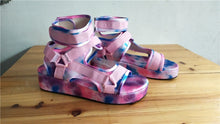 Load image into Gallery viewer, Sinbis- Tie Dye Sandals