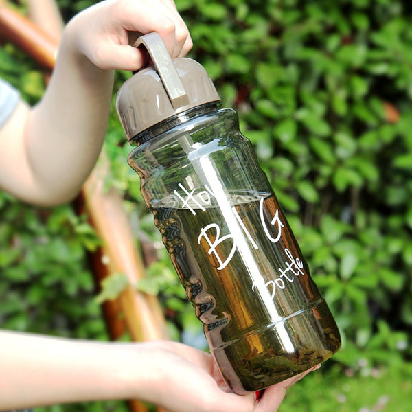 2000ml Large Capacity Plastic Travel Bottle